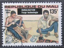 Poštovní známka Mali 1984 Ruèní zpracování kovù Mi# 1014