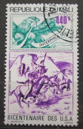 Poštovní známka Mali 1976 Nezávislost USA, 200. výroèí Mi# 534