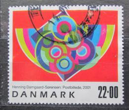 Poštovní známka Dánsko 2001 Umìní, Henning Damgaard-Sorensen Mi# 1286 Kat 7€