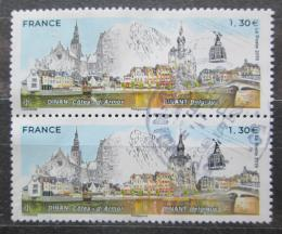 Poštovní známky Francie 2019 Partnerská mìsta pár Mi# 7260 Kat 4.80€