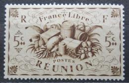 Poštovní známka Reunion 1943 Produkty zemì Mi# 266