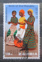 Poštovní známka Zambie 1973 Taneènice Mi# 118