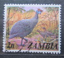 Poštovní známka Zambie 1975 Perlièka kropenatá Mi# 142