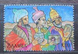 Poštovní známka Zambie 1992 Vánoce Mi# 611