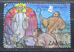 Poštovní známka Zambie 1992 Vánoce Mi# 614