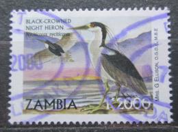 Poštovní známka Zambie 1999 Kvakoš noèní Mi# 1076