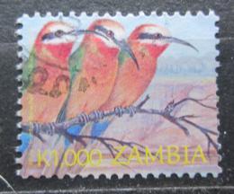 Poštovní známka Zambie 2002 Vlha bìloèelá Mi# 1406