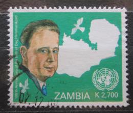 Poštovní známka Zambie 2005 Dag Hammarskjöld Mi# 1531