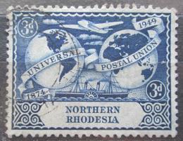Poštovní známka Severní Rhodesie, Zambie 1949 UPU, 75. výroèí Mi# 51