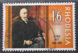 Poštovní známka Rhodésie, Zimbabwe 1968 Alfred Beit, vìdec Mi# 74