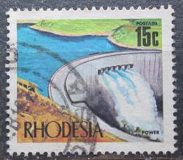 Poštovní známka Rhodésie, Zimbabwe 1970 Pøehrada Kariba Mi# 96