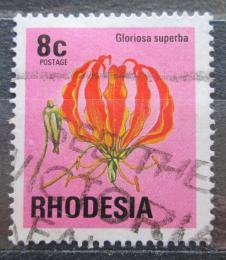 Poštovní známka Rhodésie, Zimbabwe 1976 Glorióza vznešená Mi# 175