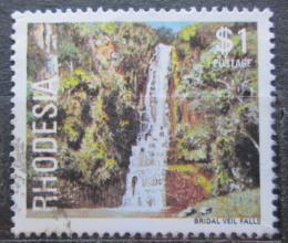 Poštovní známka Rhodésie, Zimbabwe 1978 Vodopády Bridal Veil Mi# 219