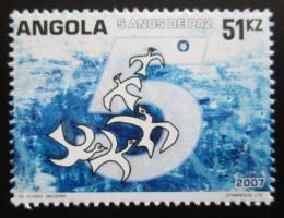 Poštovní známka Angola 2007 Mír, 5. výroèí Mi# 1777