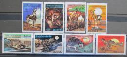 Poštovní známky Libye 1979 Fauna Mi# 704-11 Kat 7€