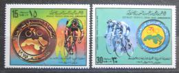 Poštovní známky Libye 1979 Cyklistika Mi# 765-66
