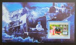 Poštovní známka Guinea 2006 Parní lokomotivy Mi# Block 1036