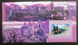 Poštovní známka Guinea 2006 Parní lokomotivy Mi# Block 1038