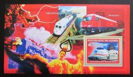 Poštovní známka Guinea 2006 Èínské lokomotivy Mi# Block 1045