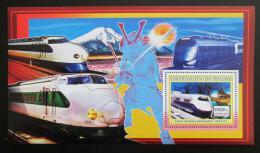 Poštovní známka Guinea 2006 Japonské lokomotivy Mi# Block 1050