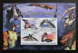Poštovní známky Burundi 2011 Netopýøi Mi# Block 160 Kat 9.50€