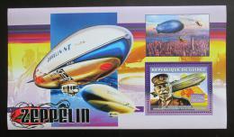 Poštovní známka Guinea 2006 Vzducholodì, Zeppelin Mi# Block 1088