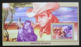 Poštovní známka Guinea 2006 Marilyn Monroe Mi# Block 1006