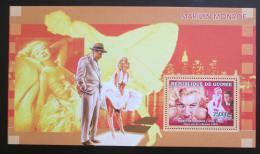 Poštovní známka Guinea 2006 Marilyn Monroe Mi# Block 1007