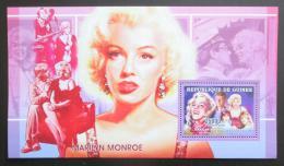 Poštovní známka Guinea 2006 Marilyn Monroe Mi# Block 1008