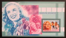 Poštovní známka Guinea 2006 Marilyn Monroe Mi# Block 1009