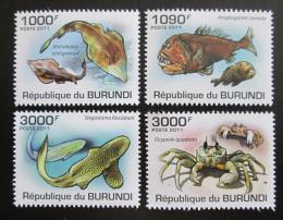 Poštovní známky Burundi 2011 Moøská fauna Mi# 1990-93 Kat 9.50€ - zvìtšit obrázek