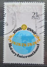 Poštovní známka Zimbabwe 1980 Rotary Intl., 75. výroèí Mi# 244