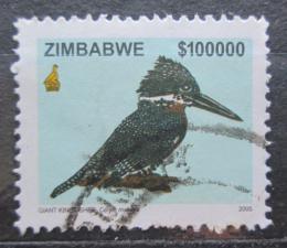 Poštovní známka Zimbabwe 2005 Rybaøík velký Mi# 807 Kat 15€