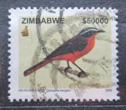 Poštovní známka Zimbabwe 2005 Drozdík bìlobrvý Mi# 806 Kat 10€