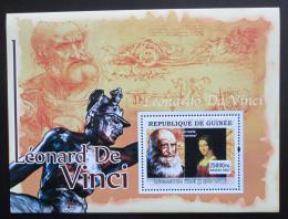 Poštovní známka Guinea 2007 Umìní, Leonardo da Vinci Mi# Block 1242 Kat 7€