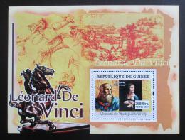 Poštovní známka Guinea 2007 Umìní, Leonardo da Vinci Mi# Block 1243 Kat 7€