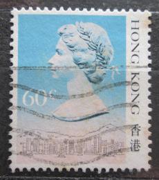 Poštovní známka Hongkong 1987 Královna Alžbìta II. Mi# 510 I