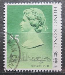 Poštovní známka Hongkong 1989 Královna Alžbìta II. Mi# 518 III