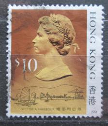 Poštovní známka Hongkong 1991 Královna Alžbìta II. Mi# 519 V Kat 7€