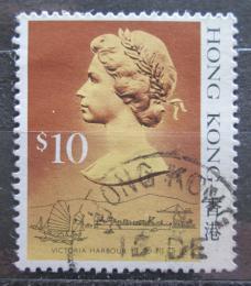 Poštovní známka Hongkong 1987 Královna Alžbìta II. Mi# 519 I Kat 5€