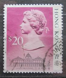 Poštovní známka Hongkong 1987 Královna Alžbìta II. Mi# 520 I Kat 7.50€