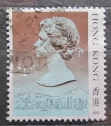 Poštovní známka Hongkong 1991 Královna Alžbìta II. Mi# 549 V