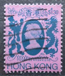 Poštovní známka Hongkong 1982 Královna Alžbìta II. Mi# 398
