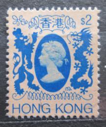 Poštovní známka Hongkong 1982 Královna Alžbìta II. Mi# 399