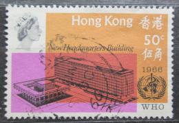 Poštovní známka Hongkong 1966 Ústøedí WHO v Ženevì Mi# 223