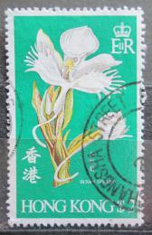 Poštovní známka Hongkong 1978 Orchidej Mi# 343 Kat 4.50€