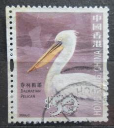 Poštovní známka Hongkong 2006 Pelikán kadeøavý Mi# 1402 Kat 10€