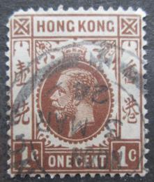 Poštovní známka Hongkong 1921 Král Jiøí V. Mi# 114