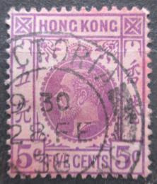 Poštovní známka Hongkong 1931 Král Jiøí V. Mi# 129