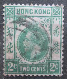 Poštovní známka Hongkong 1912 Král Jiøí V. Mi# 99